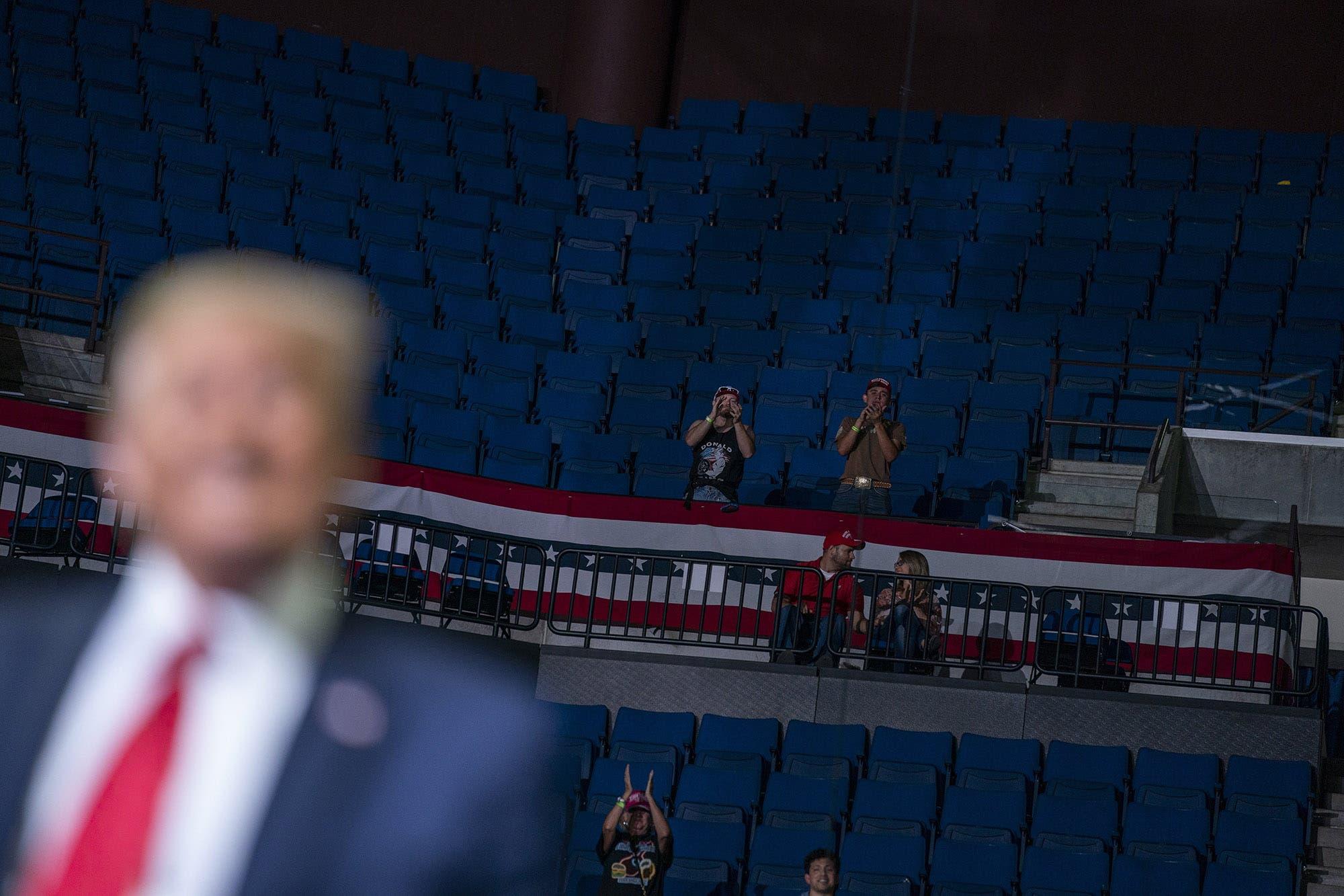 ¿Los usuarios de TikTok y los fans del K-pop dejaron solo a Donald Trump?