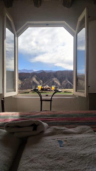 La vista de las habitaciones