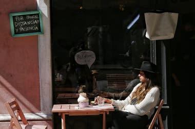 La peatonalización en Palermo, un alivio para los vecinos que pudieron disfrutar de una mesa al aire libre