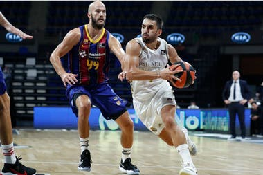 Facundo Campazzo, que fue elegido como el MVP, convirtió 21 puntos en la victoria de Real Madrid que se quedó con el título