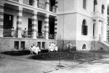 El hospital en sus comienzos