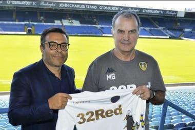 El principio, en el verano inglés de 2018, el día que Radrizzani presentó a Bielsa como nuevo entrenador de Leeds.