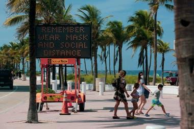 En Miami los test de coronavirus son gratuitos;o luego pueden aparecer gastos por el servicio médico