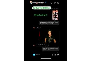 La conversación entre Román y Martita que compartieron con sus seguidores