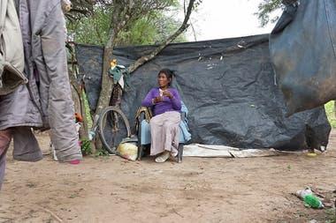 Turquesa vive en el paraje La Vertiente, no tiene DNI y no sabe su apellido