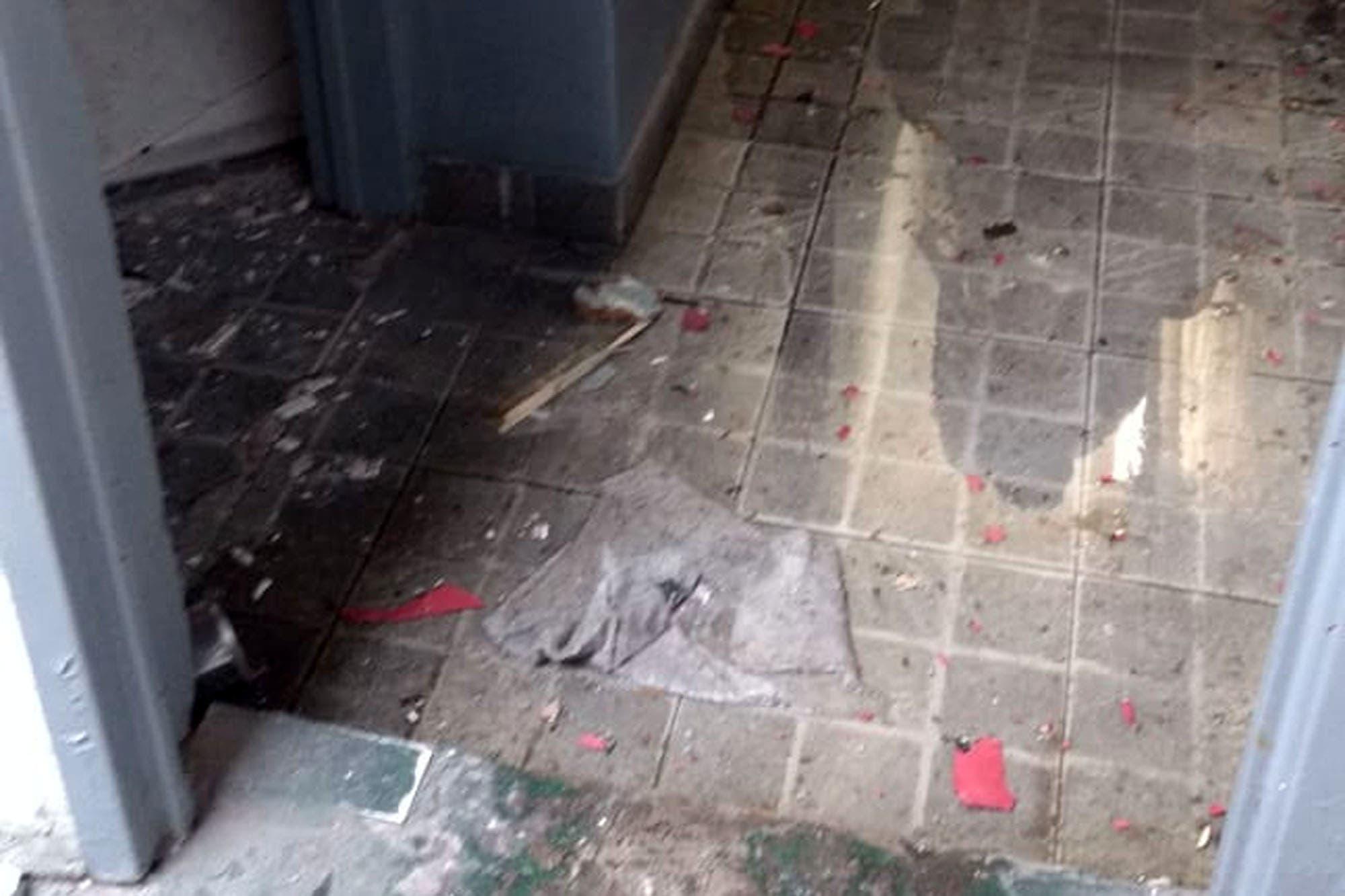 Atentado explosivo en una comisaría porteña