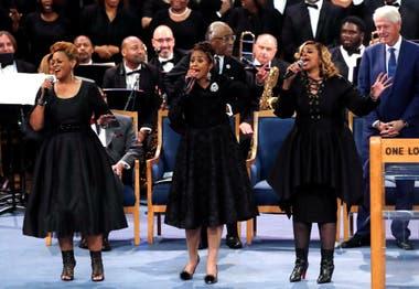 Tributo musical dedicado a Franklin en el templo