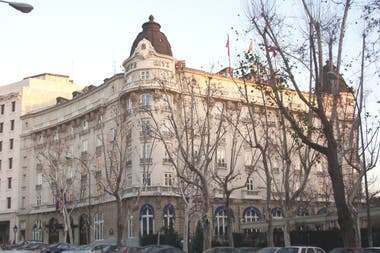 El emblemático hotel madrileño se encuentra en obra hasta 2019