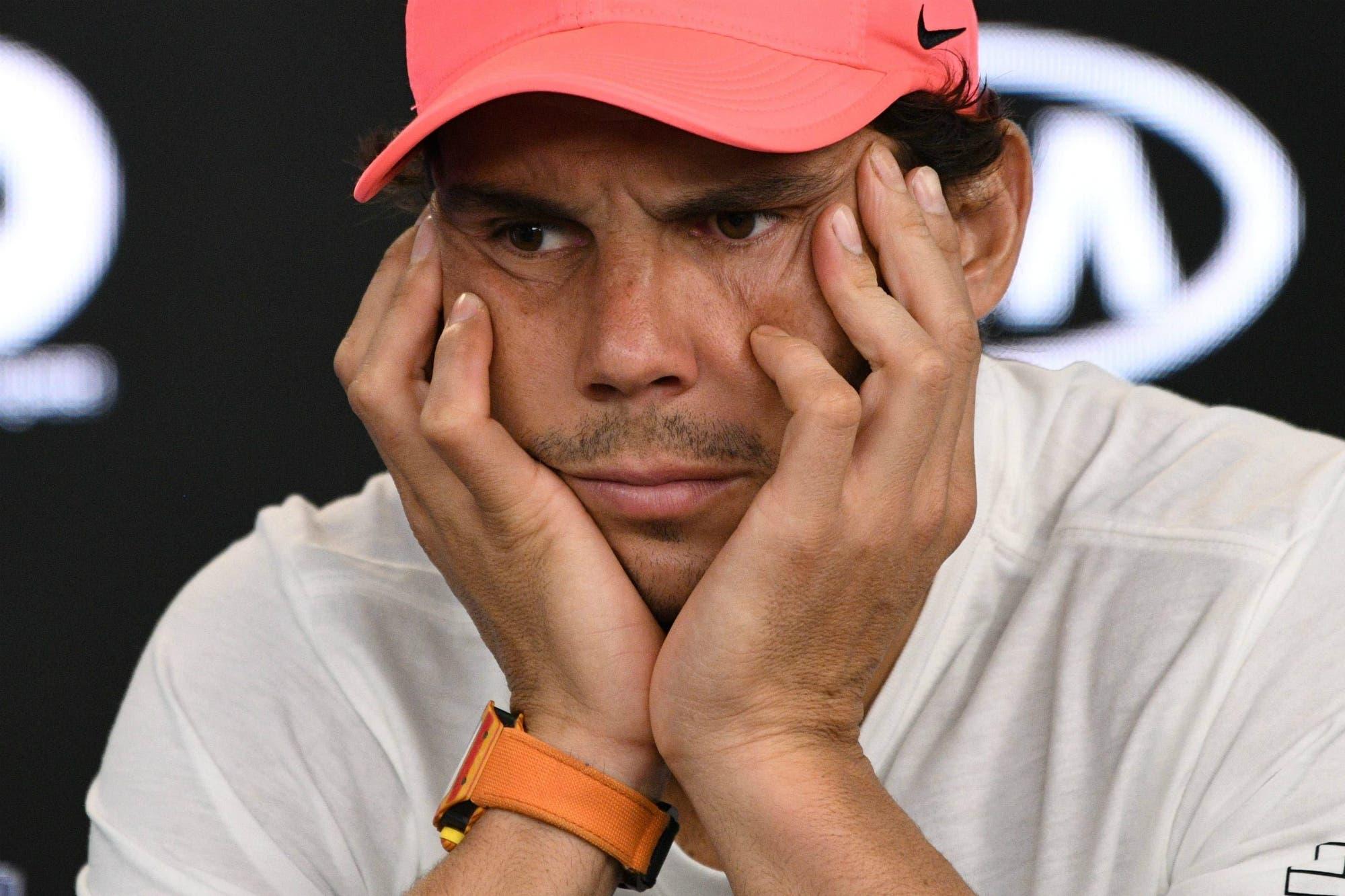 El maleficio de Rafael Nadal sobre canchas duras: sólo terminó uno de sus últimos 19 torneos