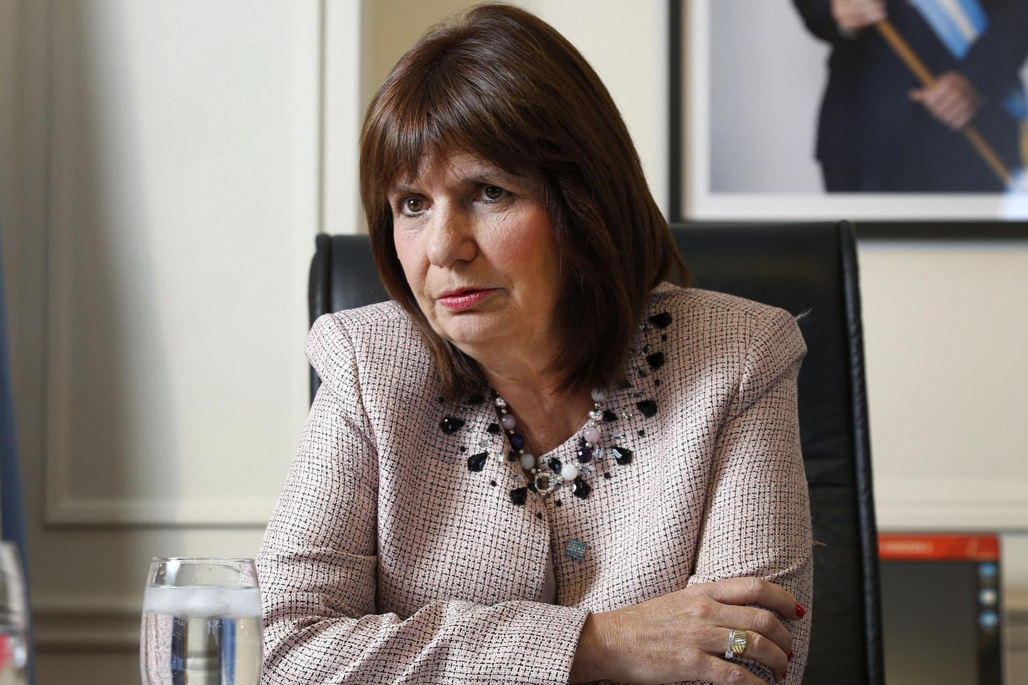 """Patricia Bullrich: """"La extinción de dominio no tiene que ver con Cristina Kirchner"""""""