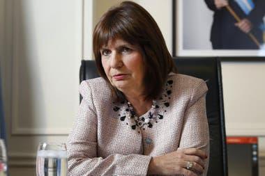Patricia Bullrich, una de las exfuncionarias que firmó el escrito