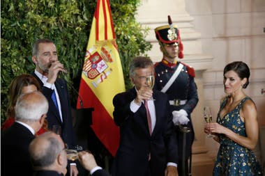El brindis de honor
