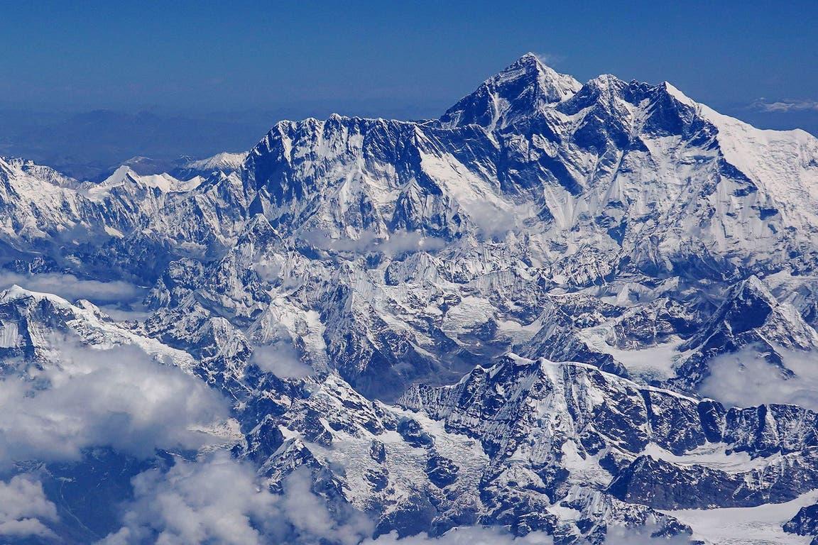 vista aérea del Monte Everest