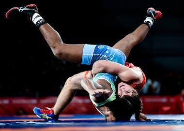 Octubre de 2018. Lucha Grecorromana en el marco de los Juegos Olímpicos de la Juventud 2018