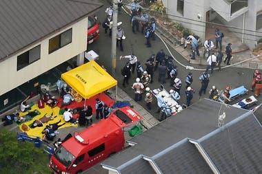 El incendio en el edificio de Kyoto Animation en Kioto, antigua capital, comenzó cerca de las 10.30 locales