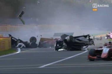 El accidente mortal en Spa