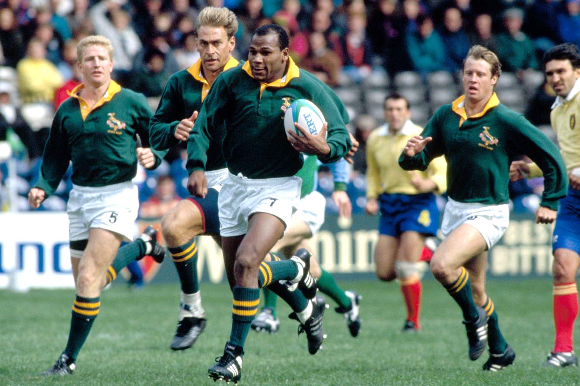 Murió Chester Williams, el único rugbier negro campeón mundial con Sudáfrica en 1995