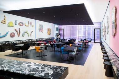 El nuevo bar, en el quinto piso
