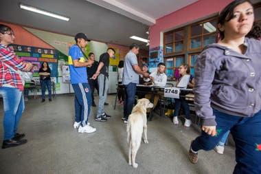 Un colegio en Virrey del Pino, La Matanza