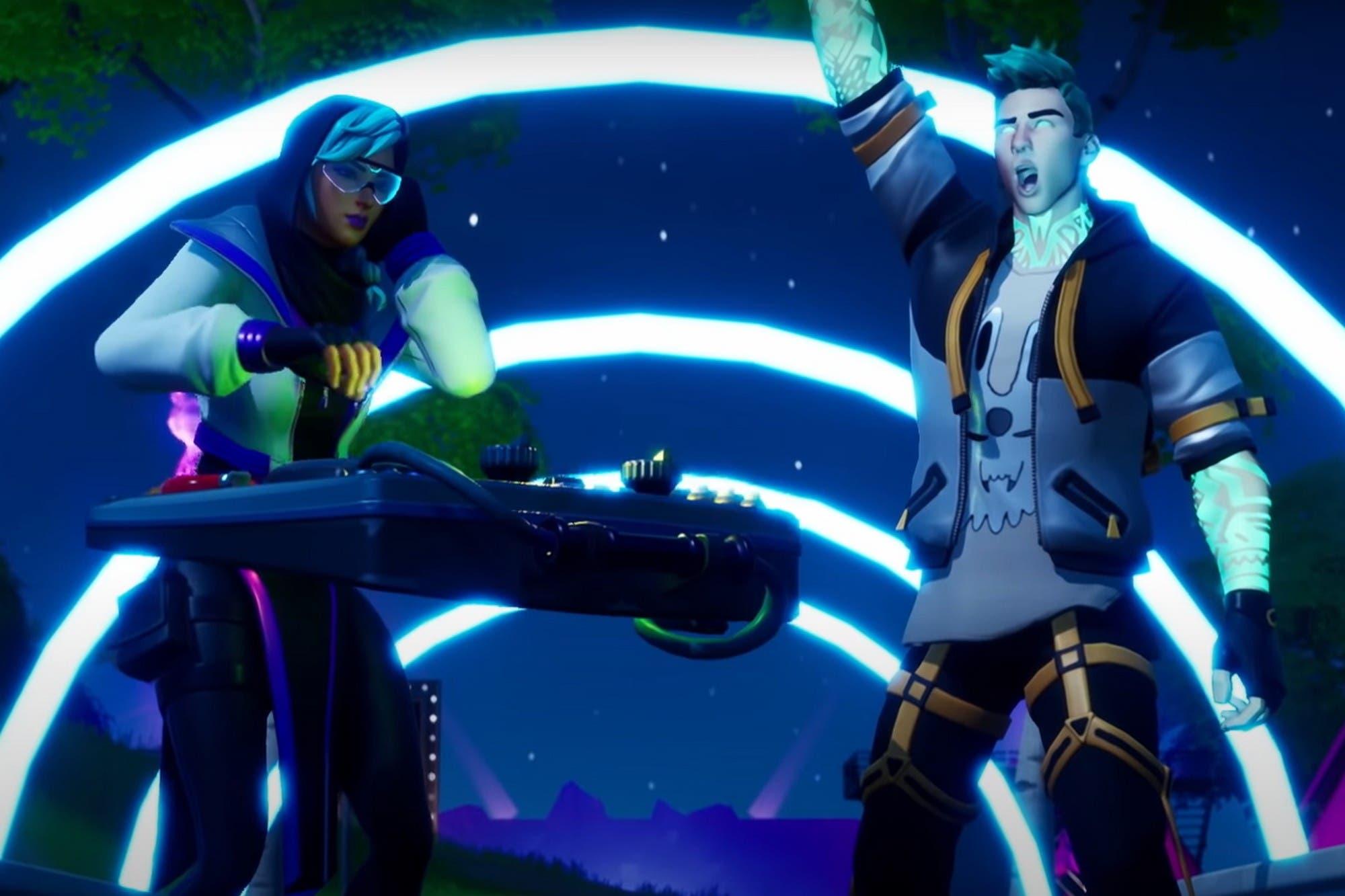 Fortnite ya tiene más de 350 millones de jugadores y anuncia una fiesta de DJs con Dillon Francis, Steve Aoki y deadmau5