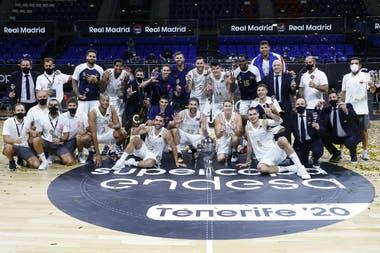 Real Madrid es el tricampeón de la Supercopa española de básquetbol