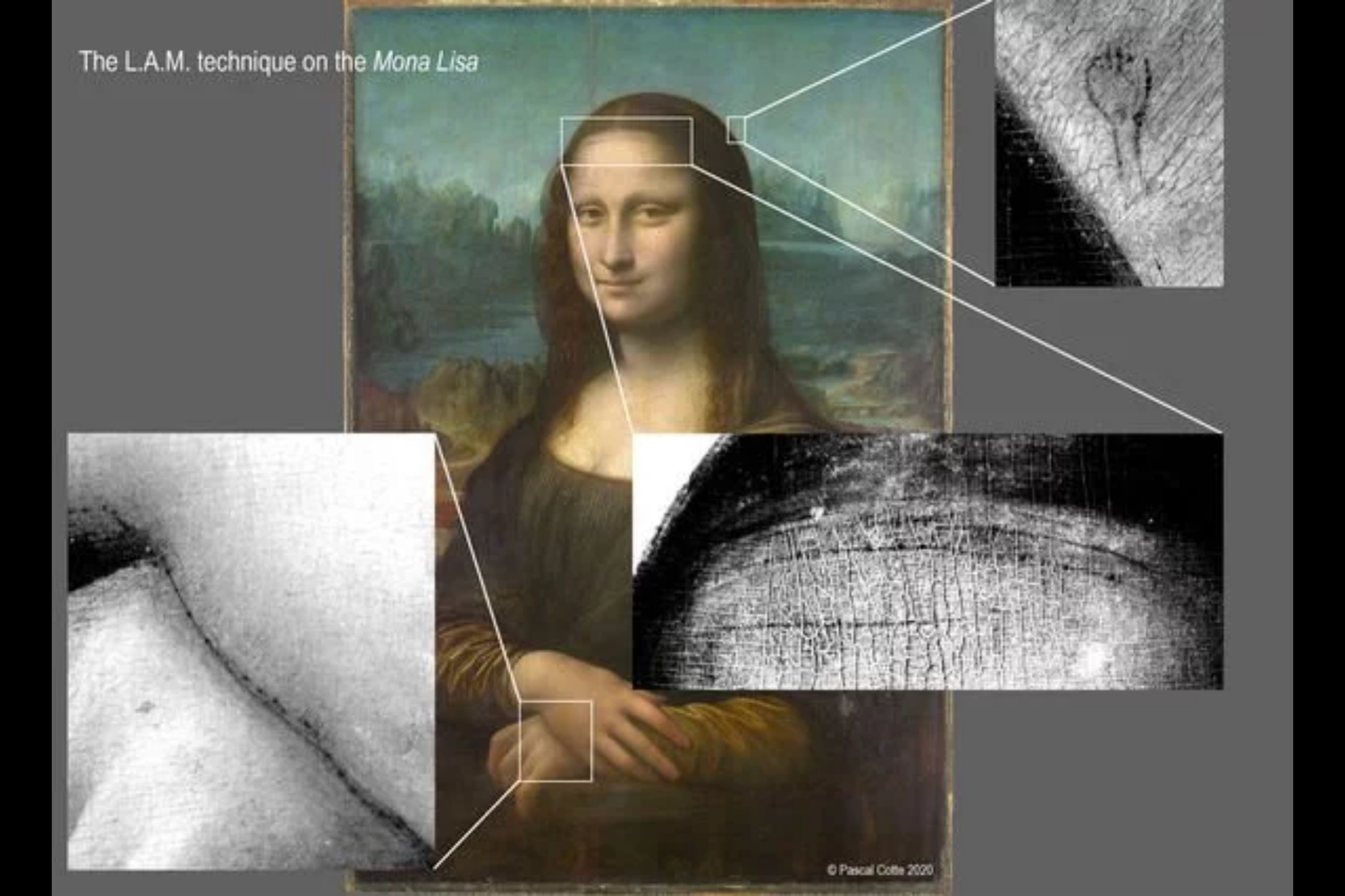 Mona Lisa. Descubren un boceto y detalles ocultos debajo de la pintura - LA  NACION