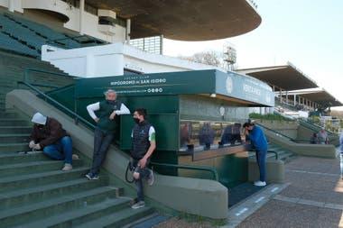 A diferencia de Palermo, en San Isidro hubo una boletería abierta para los que podían ingresar