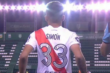 Santiago Simón tiene 18 años y llegó a River en 2013