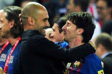 Guardiola, durante sus cuatro años en Barcelona, fue el director técnico que sacó el mejor rendimiento de Messi