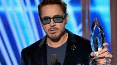 Robert Downey Jr., mejor actor de acción