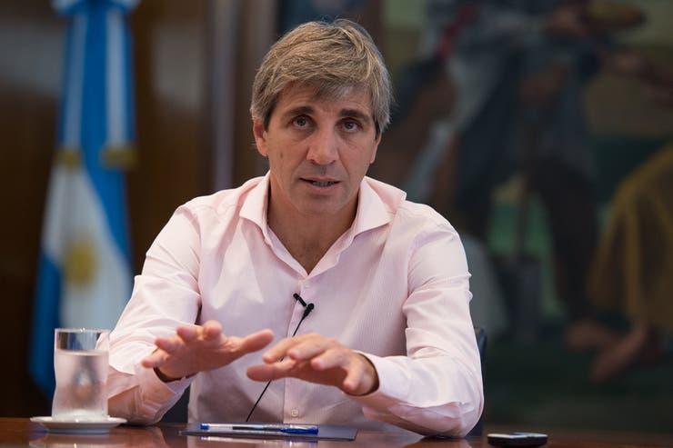 Luis Caputo es el ministro de Finanzas de la Nación