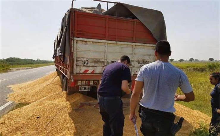 En el último paro de transportistas hubo denuncias de vandalismo