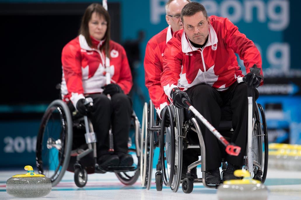 El atractivo curling, pero en versión paralímpica