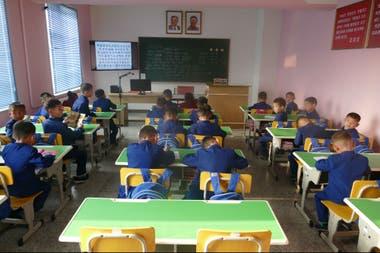 Un orfanato en Pyongyang