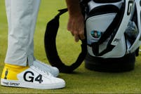 Golf: Los zapatos de Bubba Watson, un divertido toque de color en The Open