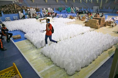 Ya prepararon centros de acogida para quienes deben evacuar