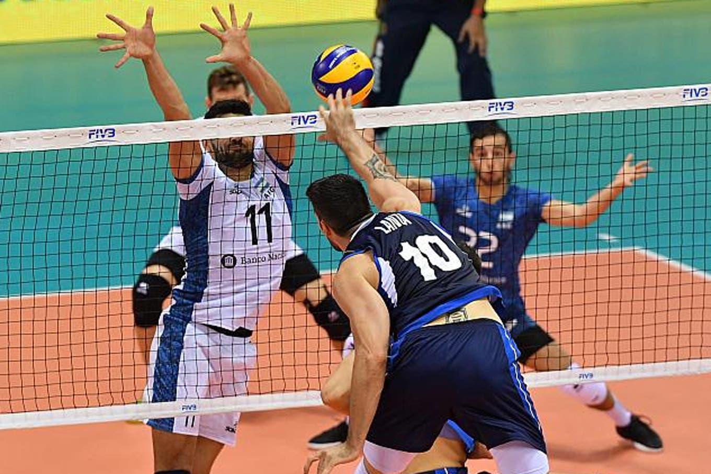 Mundial de voleibol: Argentina jugó en gran nivel pero no aguantó y perdió ante Italia por 3-1