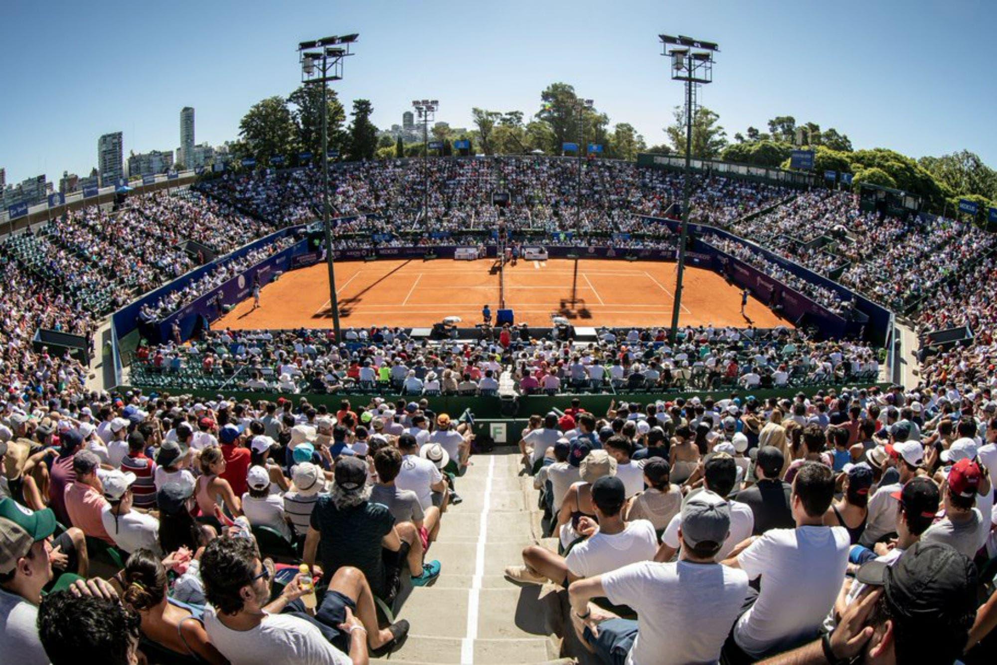 Todo el color del Argentina Open: las mejores fotos y jugadas de la semana