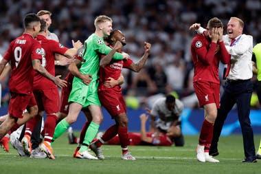Triunfo sellado y sexto título de Liverpool en la Champions League