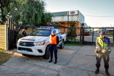 El incidente ocurrió en el predio de la empresa Diversey Lever que fabrica productos de limpieza