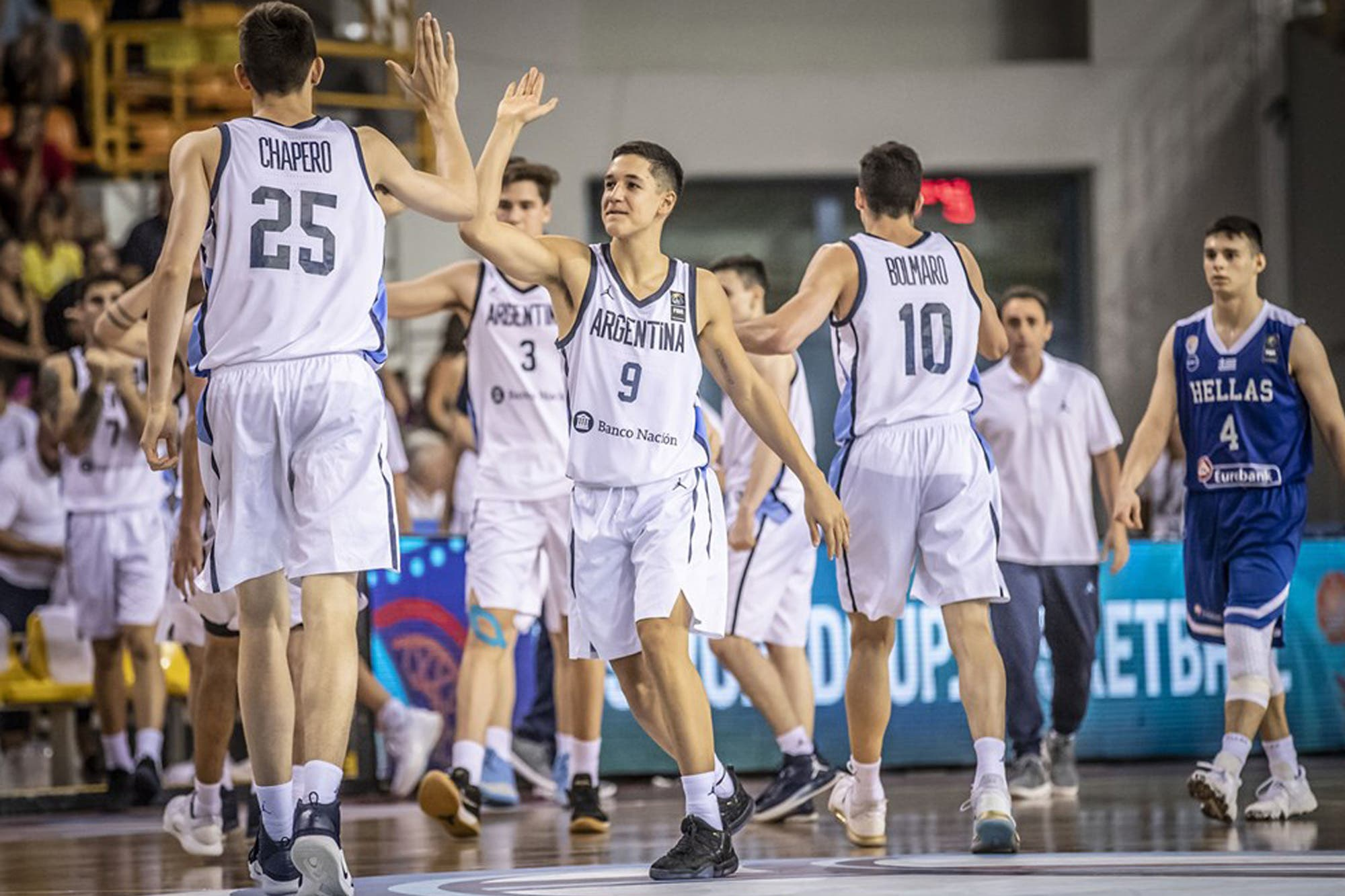 El U19 de básquet avanza en el Mundial de Grecia: lo que dijeron Ginóbili, Campazzo y Hernández