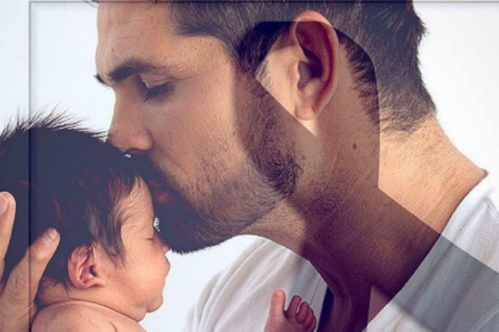 El actor Ferdinando Valencia anunció la muerte de Dante, su hijo de tres meses