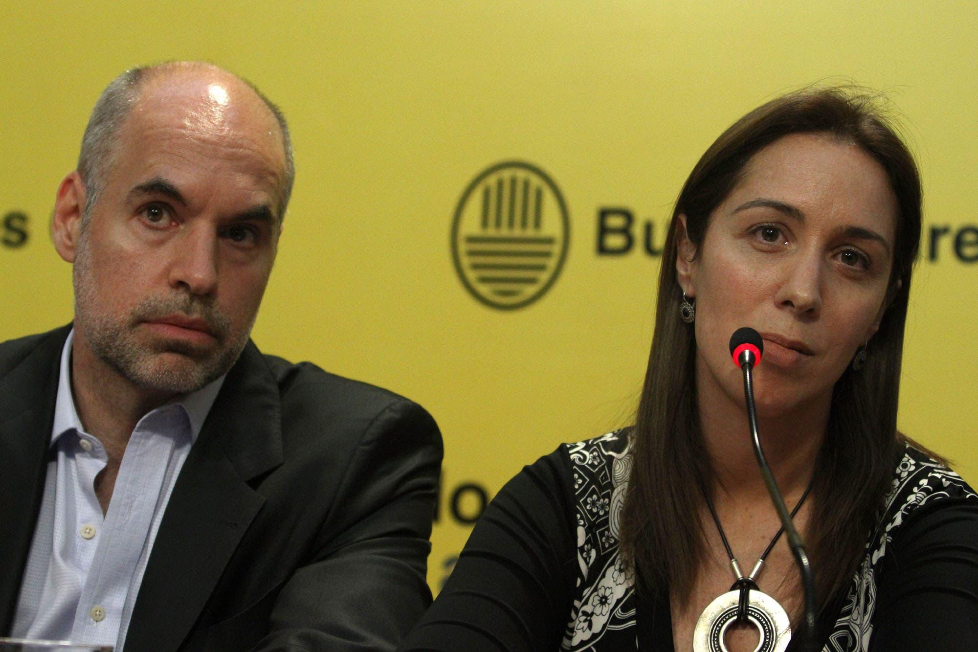 Freno en dos distritos clave: Horacio Rodríguez Larreta y María Eugenia Vidal rechazan suspender las PASO en la ciudad y la provincia de Buenos Aires