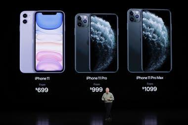 Los precios del iPhone 11 en sus tres versiones