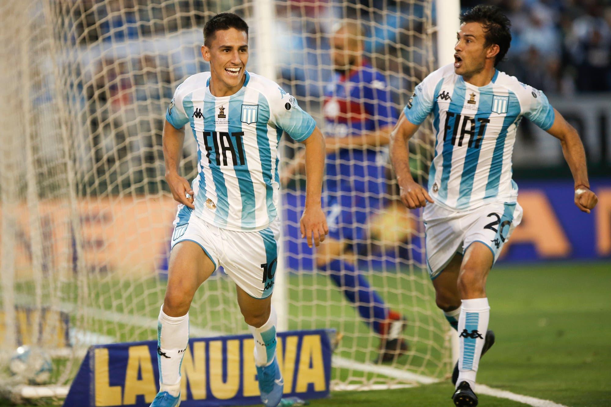 Racing-Tigre: la Academia gana por 2 a 0 y acaricia el Trofeo de Campeones