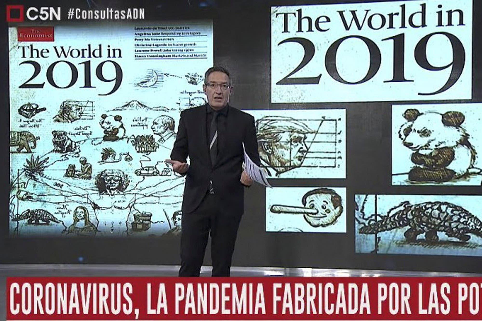 Quién es Tomás Méndez, el periodista que difundió un disparatado informe sobre el origen del coronavirus