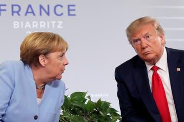 Por tener un liderazgo más predecible, la gestión de Angela Merkel tiene índices de aprobación muy superiores a los de Trump
