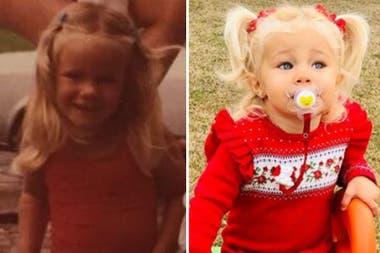 La modelo compartió un mensaje por el Día del Niño y todos notaron su gran parecido con su hija, Matilda