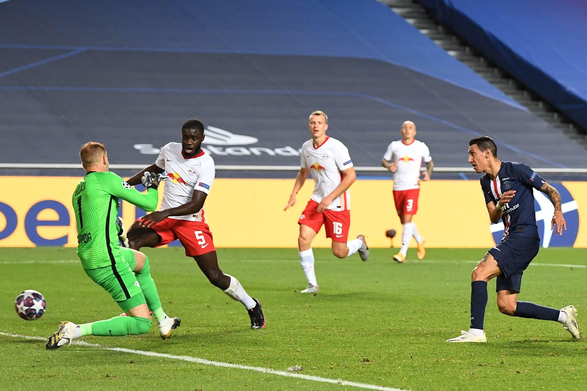 PSG-Leipzig: el video del gran partido de Di María y los goles del 3-0 del equipo francés, que jugará la final de la Champions League