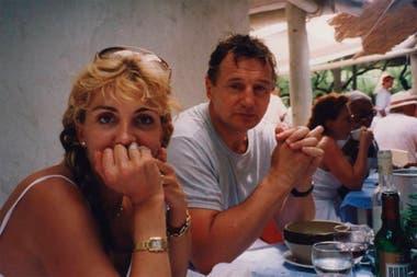 Siete años después de la muerte de Richardson, Neeson la recordó con un sentido posteo en Facebook
